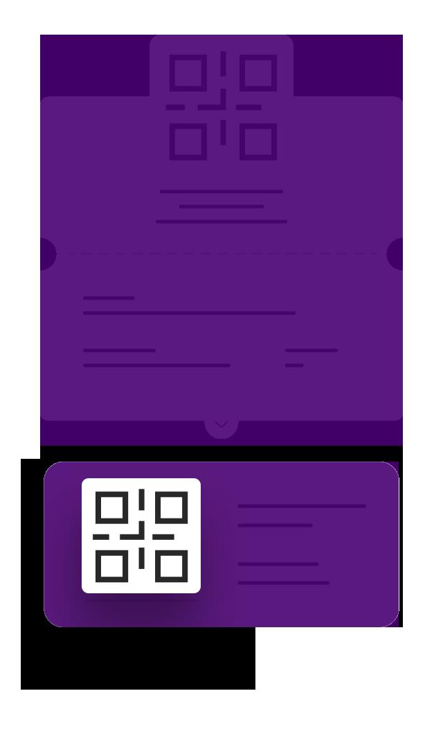 e-ticket com catraca