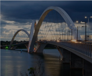 ��nibus saindo da Rodovi��ria de Uberl��ndia para Brasilia
