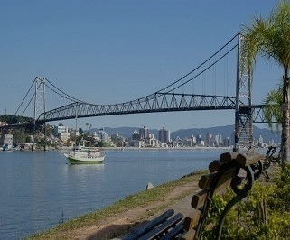 Passagem de onibus da Reunidas de Lages para Florianopolis
