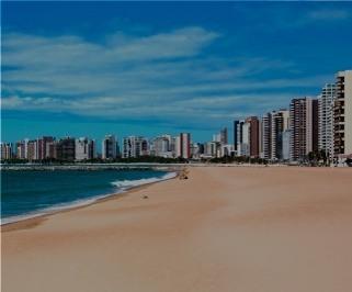 Ônibus saindo da Rodoviária de Recife para Fortaleza