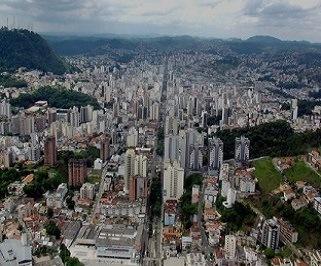 Ônibus saindo da Rodoviária de Belo Horizonte para Juiz De Fora