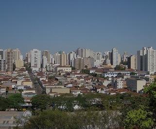Ônibus saindo da Rodoviária do Tietê para Ribeirao Preto