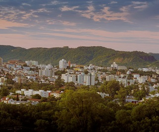 Passagem de onibus da União Santa Cruz de Joinville para Santa Maria